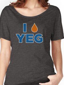 I HEART YEG Women's Relaxed Fit T-Shirt