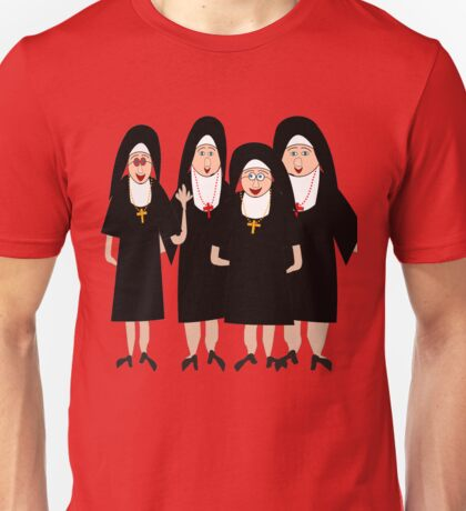 Nuns In Habits Unisex T-Shirt