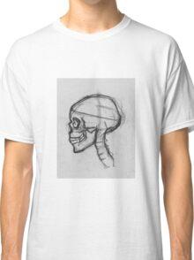 Skull in Profile Classic T-Shirt