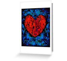 Valentine Heart Greeting Card