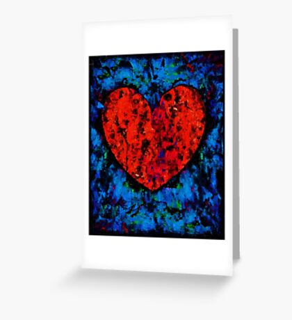 Valentine Heart Greeting Card