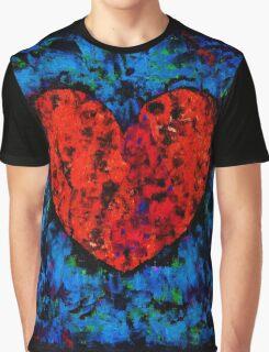 Valentine Heart Graphic T-Shirt