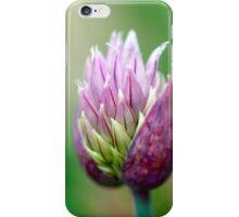 Macro Chive Blossom 3 iPhone Case/Skin