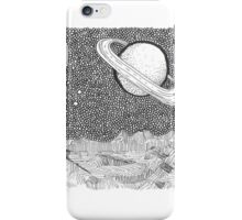 View of Saturn iPhone Case/Skin