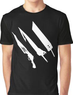 Final Fantasy Swords Graphic T-Shirt