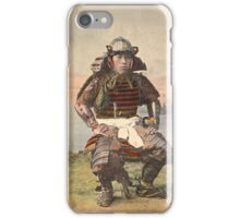 Samurai warrior in armour - 1900 iPhone Case/Skin