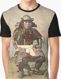 Samurai warrior in armour - 1900 Graphic T-Shirt
