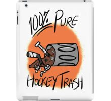 100% Pure Hockey Trash (Orange) iPad Case/Skin