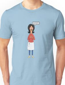 Linda Belcher Wine Pattern Red Unisex T-Shirt