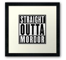 Lord of the rings - Mordor Framed Print