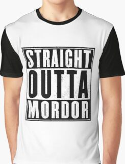 Lord of the rings - Mordor Graphic T-Shirt