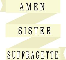 Amen Sister (Ribbon Version) by letglitterain