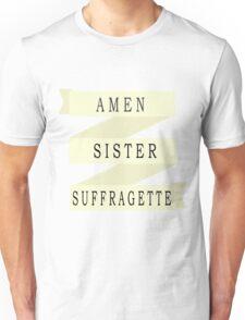 Amen Sister (Ribbon Version) Unisex T-Shirt