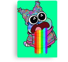 Trippy Chowder Canvas Print