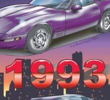 1993 Corvette Sticker