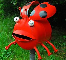 Laughing Ladybird # 3 by Penny Smith