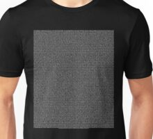 Bee Script All Movie in 1 - Black Unisex T-Shirt