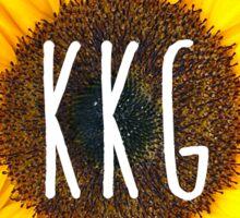 kappa sunflower Sticker