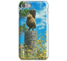 Birdy Sculpture iPhone Case/Skin