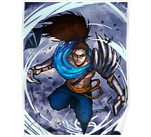 Yasuo in the wind Poster