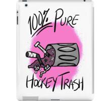 100% Pure Hockey Trash (Pink) iPad Case/Skin