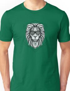Ornate Cool Lion Unisex T-Shirt