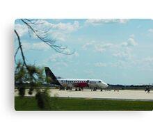 Turbo Prop Commuter Plane Canvas Print