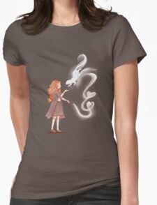 Be My Patronus Womens Fitted T-Shirt