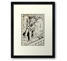 Assassin Eagle Framed Print