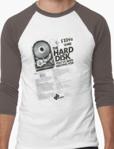10 megabytes Men's Baseball ¾ T-Shirt