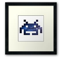 Galaxy Space Invader #1 Framed Print