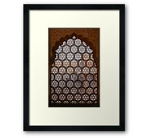Marble Viewport Framed Print