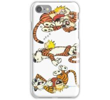Calvin and Hobbes Cute  iPhone Case/Skin