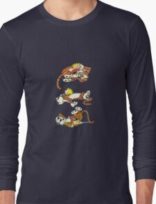 Calvin and Hobbes Cute  Long Sleeve T-Shirt