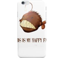 An Angler Fish's Happy Face iPhone Case/Skin