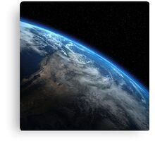 EARTH ORBIT Canvas Print