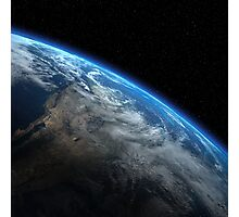 EARTH ORBIT Photographic Print