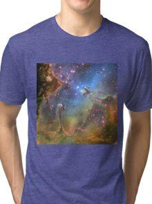 EAGLE NEBULA Tri-blend T-Shirt