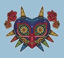 Zelda Majoras Mask Day of The Dead Kids Tee
