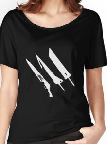 Final Fantasy Swords Women's Relaxed Fit T-Shirt