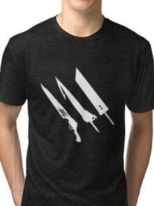 Final Fantasy Swords Tri-blend T-Shirt