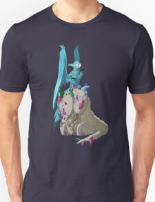 Bird on Rock Unisex T-Shirt