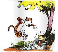 Calvin and Hobbes Playground Poster