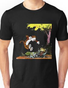 Calvin and Hobbes Playground Unisex T-Shirt