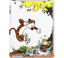 Calvin and Hobbes Playground iPad Case/Skin