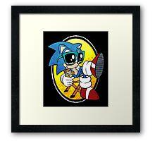 Sonic Chill Framed Print