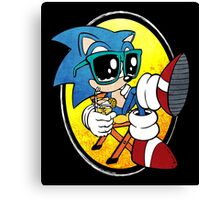 Sonic Chill Canvas Print