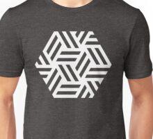 Hexagon Study 04 - White Unisex T-Shirt