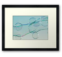 Elongated Framed Print