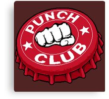 Punch Club Canvas Print